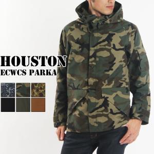 送料無料 HOUSTON ヒューストン ECWCS パーカー メンズ ジャケット マウンテンパーカー ライトアウター 軽アウター アウトドア 即納 rainbunker
