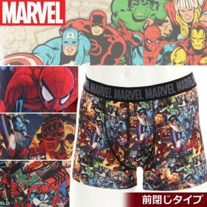 MARVEL マーベル 下着 メンズ メンズ ボクサーパンツ アメコミ スパイダーマン アイアンマン 即納