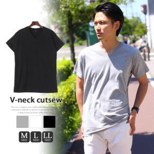 メンズ トップス 半袖 ベーシック 無地 ティーシャツ Tシャツ カットソー|rainbunker