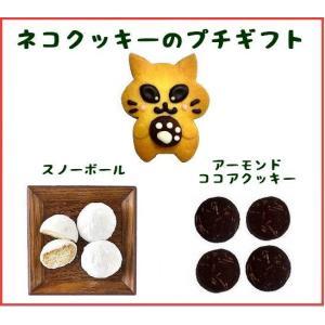 【商品内容】  ネコクッキー1枚(約4.5cm×7cm)  フロランタンラスク3枚、ムラングココ4個...
