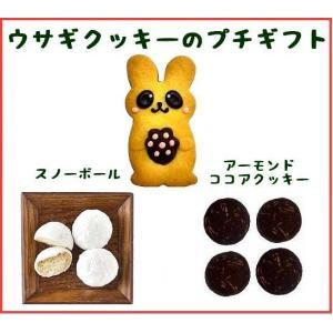 【商品内容】  ウサギクッキー1枚(約4cm×8.5cm)  フロランタンラスク3枚、ムラングココ4...