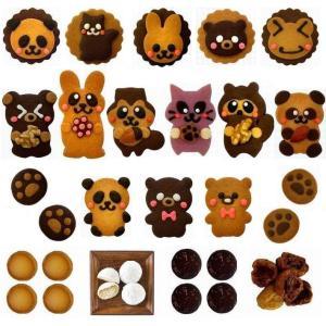 【商品内容】  動物クッキー6枚(約4.5cm×7cm)  動物ビスケット6枚(直径6.5cm)  ...