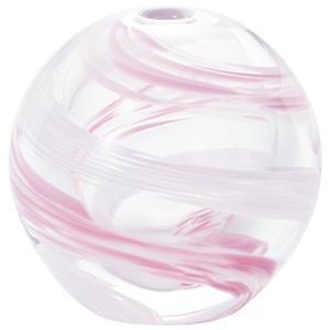 アデリア 津軽びいどろ 花器 ピンク 最大径7cm×高6.5cm 花紀行桜流し 一輪挿し 1個箱入 日本製 F-71662|rainyblues
