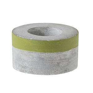 ファブリックミー セメントプランター LOW S グリーン 03-2208-00|rainyblues