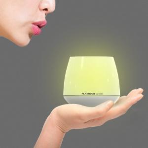 PLAYBULB candle ルームキャンドル アロマキャンドル Bluetoothコントロール LED BTL300 (1)|rainyblues