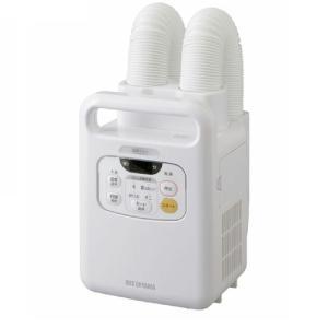 アイリスオーヤマ 布団乾燥機 カラリエ 温風機能付 マット不要 ツインノズル 布団2組・靴2組対応 ホワイト FK-W1 rainyblues