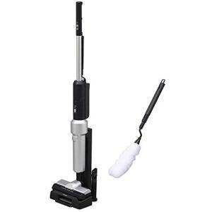 アイリスオーヤマ 極細軽量スティッククリーナー 静電モップ付き 掃除機 スティッククリーナー 紙パック 軽量 コードレス IC-SLDCP5 rainyblues