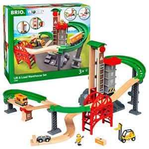 BRIO (ブリオ) WORLD ウェアハウスレールセット 木製レール おもちゃ 33887|rainyblues