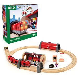 BRIO (ブリオ) メトロレールウェイセット 木製レール おもちゃ 33513|rainyblues