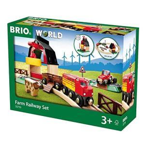 BRIO (ブリオ) WORLD ファームレールセット 木製レール おもちゃ 33719|rainyblues