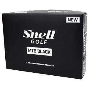 スネルゴルフ(Snell Golf) ゴルフボール MTB BLACK ゴルフボール 1ダース(12球入) ホワイト|rainyblues