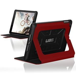UAG Folio iPad 9.7インチ 2017年モデル用ケース メトロポリスデザイン 超軽量 頑丈 軍用落下テスト済み レッド IPD rainyblues
