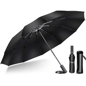 2020年強化版 12本骨 折りたたみ傘 自動開閉 軽量 折り畳み傘 メンズ 大きい 晴雨兼用 台風対応 梅雨対策 大きい 超撥水 おりたた rainyblues