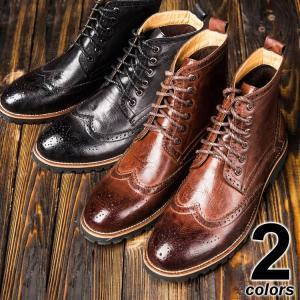 ブーツ カントリーブーツ 4色 Shoes37