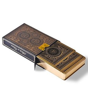 プロマジシャンも使用!トランプカード ゴールド風 プレイングカード  トランプ  プラスチック製  ゲーム用品 ポーカーサイズ