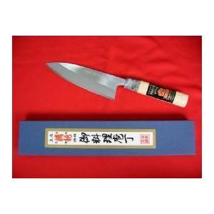 「土佐清龍作」舟行包丁(両刃)15cm|rakucho-webstore