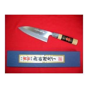 「土佐清龍作」出刃包丁(両刃)18cm|rakucho-webstore