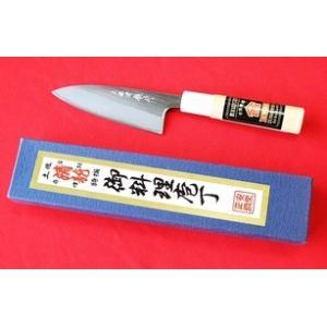 西山商会「土佐清龍作」両刃小包丁12cm|rakucho-webstore