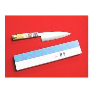 ステンレス&高級鋼複合包丁「白梅」 両刃舟行包丁16.5cm|rakucho-webstore