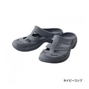 シマノ EVAIR マリンフィッシングサンダル ネイビーコンプ 3Lサイズ|rakucho-webstore