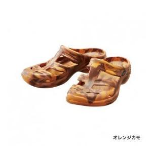 シマノ EVAIR マリンフィッシングサンダル オレンジカモ Mサイズ|rakucho-webstore