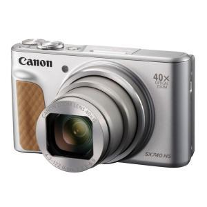[新品]Canon キヤノン デジタルカメラ PowerShot SX740 HS シルバー PSS...