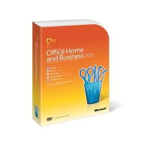 [開封品]Microsoft Office Home and Business 2010 通常版 [パッケージ]【美品!】