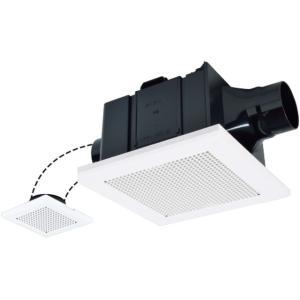 三菱 ダクト用換気扇 天井埋込形 VD-15ZFC12 サニタリー用 二部屋換気用 低騒音形 (VD-15ZFC10の後継品) rakudenmart