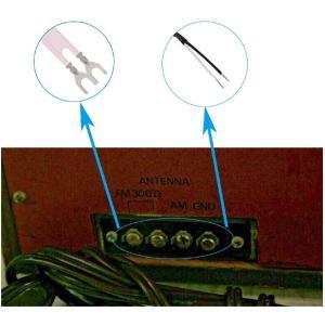 FMアンテナ AMアンテナ 高感度 室内 wuernine AMループアンテナ FMフィーダーアンテナ 300Ω ラジオ レシーバーなど用|rakuget