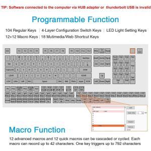 Koolertron片手マクロメカニカルキーボード 9キーフルプログラム可能ゲーミングキーボード カスタマイズ可能小型キーボード RGB L|rakuget