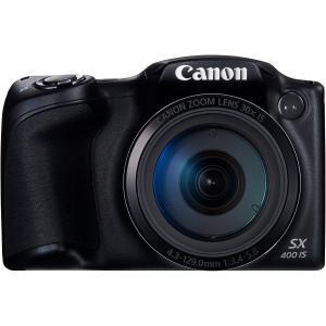 Canon デジタルカメラ PowerShot SX400IS(BK) 約1600万画素 光学30倍ズーム ブラック PSSX400IS|rakuget
