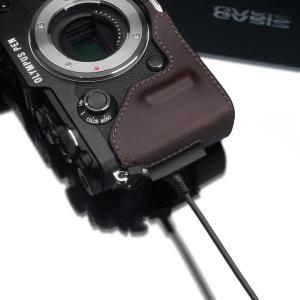GARIZ OLYMPUS PEN-F用 本革カメラケース HG-PENFBR ブラウン|rakuget