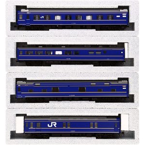 KATO HOゲージ 24系 寝台特急 北斗星 基本 4両セット 3-515 鉄道模型 客車|rakuget