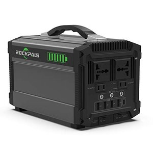 Rockpals ポータブル電源 120000mAh/444Wh 500W 大容量 正弦波 リン酸鉄リチウム電池採用 発電機 蓄電池 ポータ|rakuget