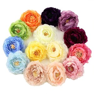 ラナンキュラス 髪飾り コサージュ  髪飾り 花 結婚式 成...