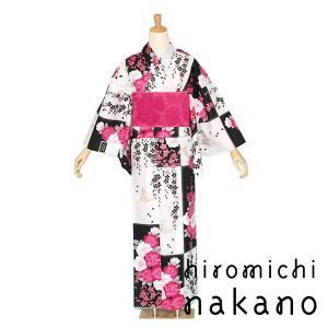 人気ブランド【ナカノヒロミチ】の2010年新作浴衣です。お仕立て上がりですので直ぐにお召しになれます...