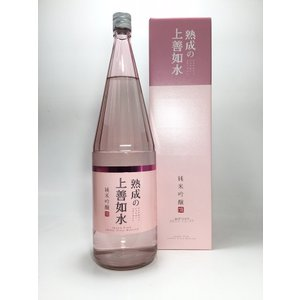 熟成の上善如水 純米吟醸 1.8L|rakuiti-sake