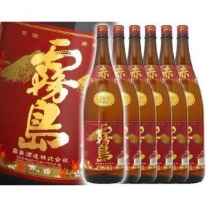 送料無料 赤霧島 1800ml 6本セット|rakuiti-sake
