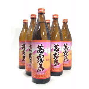 送料無料 茜霧島  900ml  6本セット|rakuiti-sake