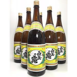 送料無料 白玉の露 1.8L 6本セット|rakuiti-sake