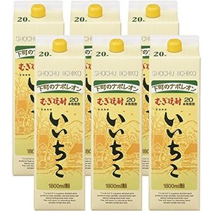 送料無料 いいちこ20°1.8Lパック 6本セット|rakuiti-sake