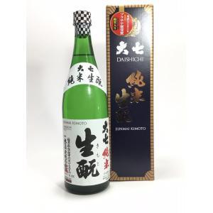 大七 純米生もと 720ml|rakuiti-sake