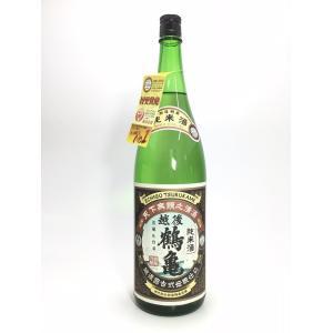 越後鶴亀 純米 1.8L|rakuiti-sake