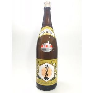 越乃寒梅 別撰(吟醸) 1.8L
