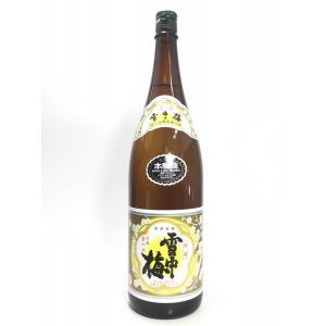 新潟の人気酒。 雪中梅の本醸造です。新潟を代表する銘酒です。蔵元は丸山酒造場。 市場ではなかなかお目...