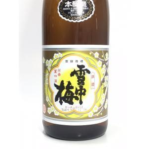 雪中梅 本醸造 1.8L|rakuiti-sake|02