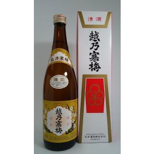 越乃寒梅 白ラベル 720ml 化粧箱入|rakuiti-sake