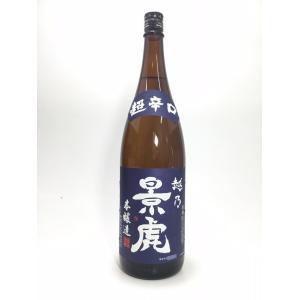 越乃景虎 超辛口本醸造 1.8L rakuiti-sake