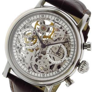 887b2e1335 アルカ フトゥーラ ARCA FUTURA 手巻き クロノ メンズ 腕時計 CW3002BR スケルトン