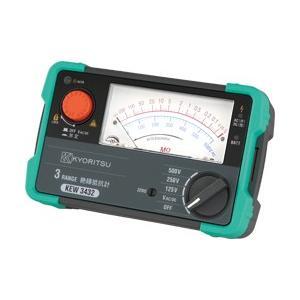 (送料無料)(在庫有)共立電気計器 KYORITSU 3432 3レンジアナログ絶縁抵抗計       |rakurakumarket